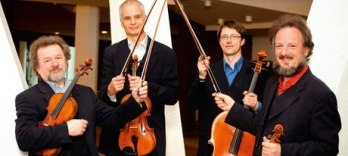 Members of the Philharmonia Quartet